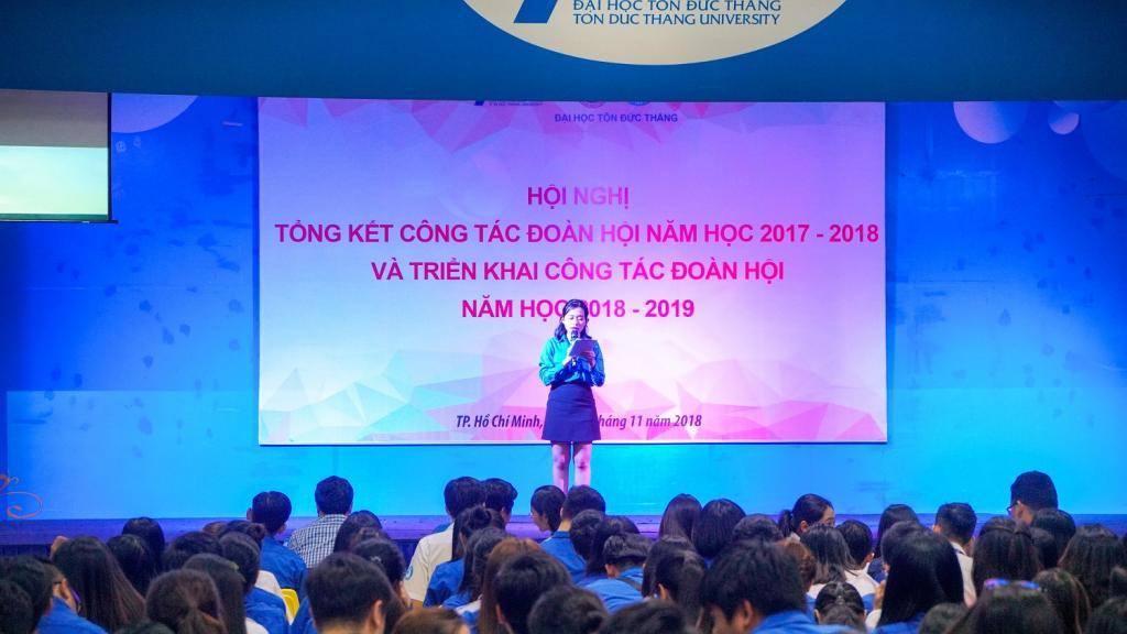 Hội nghị Tổng kết công tác Đoàn – Hội năm học 2017 – 2018 và triển khai công tác Đoàn- Hội năm học 2018 - 2019